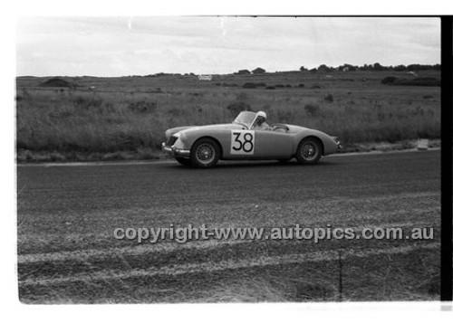 N. Ikin, MG A - Phillip Island - 22nd April 1957 - Code 57-PD-P22457-025