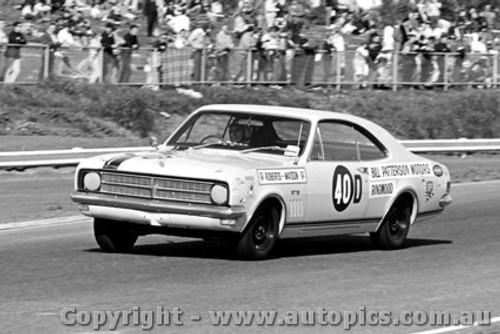 68062 - T. Roberts / B. Watson Holden Monaro GTS - Sandown 1968