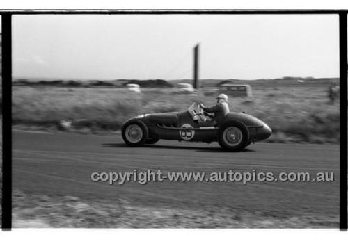 L. McDonald, MG Holden - Phillip Island - 26th December 1957 - Code 57-PD-P261257-076