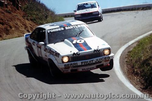 78737 - Forbes / Bartlett  - Holden Torana A9X - Bathurst 1978