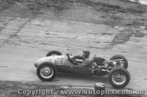 60102 -  A. Staton - BRM  500  - Templestowe Hill Climb 1960