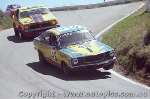 78739  -  B. Jones / B. Potts Mazda - P. Janson / Phillip Brock - Holden Torana A9X  - Bathurst 1978