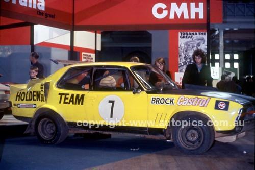 70845 - Peter Brock's Rally Cross XU1, Melbourne Car Show 1970 - Photographer Alan Smith