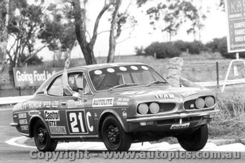 71738 - N. Riley/ K. Brian - Honda Coupe 1300/9 Bathurst 1971