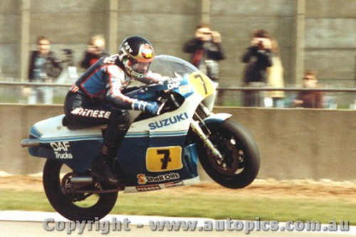 83301 - Barry Sheene  [1950 - 2003]   World 500cc Motorcycle Champion 1976 and 1977