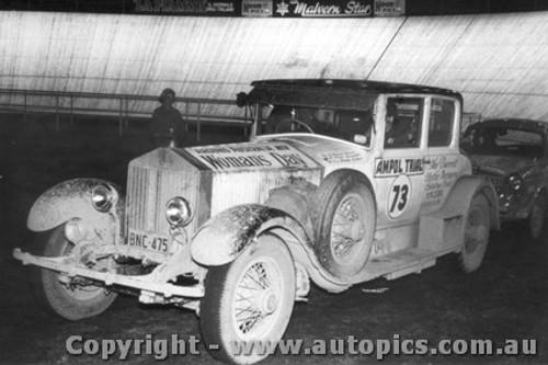 58703 - Brown / Price / Brown - Rolls Royce  - Ampol Trial 1958