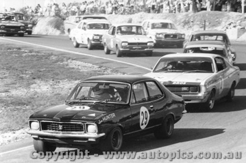 73047 - Jim Hunter Holden Torana XU1  Ian  Pete  Geoghegan Valiant Charger - Amaroo Park 1973