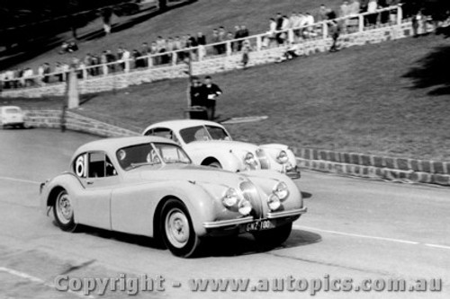 58413 - M. Rainey Jaguar - Geelong Speed Trials 1958