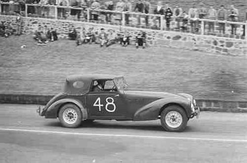 59401 - J. Duke - Allard -  Geelong Speed Trials 1959