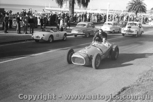 59507 - J. Sawyer - Maybach - Geelong Speed Trials 1959