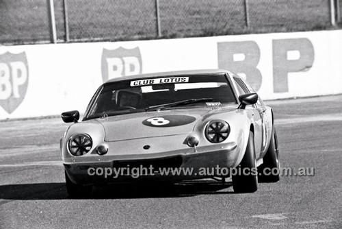 John Butcher, Lotus Europa - Oran Park 6th July 1980  - Code - 80-OP06780-016
