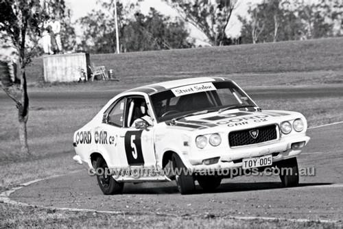 John Cross, Mazda RX3 - Oran Park 6th July 1980  - Code - 80-OP06780-171