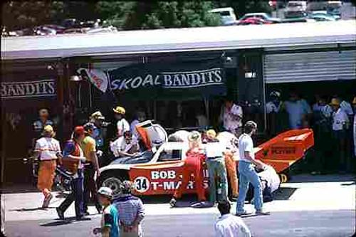 84406 - A. Miedecke / C. Bond Porsche 956T - Final Round of the World Sports Car Championship - Sandown 1984