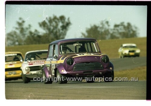 Oran Park - Allan Pring-Shambler Morris Cooper - 6th July 1980  - Code - 80-OPC6780-001