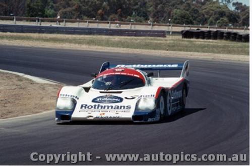 84404 - A. Jones / V. Schuppan Porsche 956T - Final Round of the World Sports Car Championship - Sandown 1984