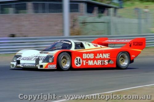 84407 - A. Miedecke / C. Bond Porsche 956T - Final Round of the World Sports Car Championship - Sandown 1984