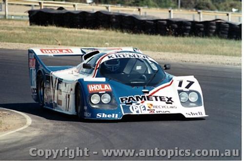 84408 - K. Kroesemeijer / J. Parrara Kremer CK5T - Final Round of the World Sports Car Championship - Sandown 1984