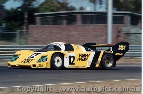 84409 - D. Schornstein / J. Winter l Porsche 956T - Final Round of the World Sports Car Championship - Sandown 1984