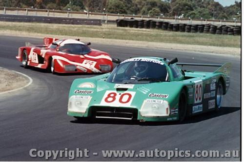 84412 - M. Finotto / C. Facetti Alba Giannini C2T - Final Round of the World Sports Car Championship - Sandown 1984
