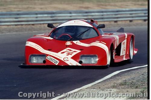 84413 - F. Jellinski Gebhardt 843DFV - Final Round of the World Sports Car Championship - Sandown 1984