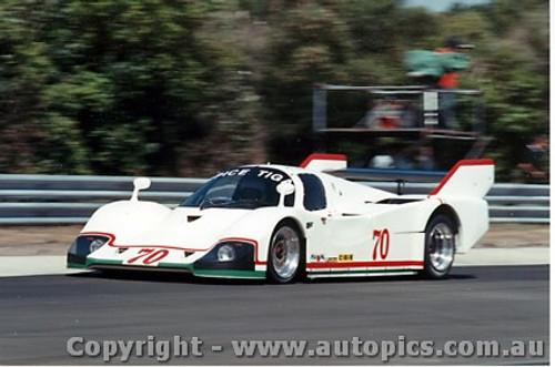 84415 - G. Spice / N. Crang / J. Trueman Tiga GC84 Ford - Final Round of the World Sports Car Championship - Sandown 1984