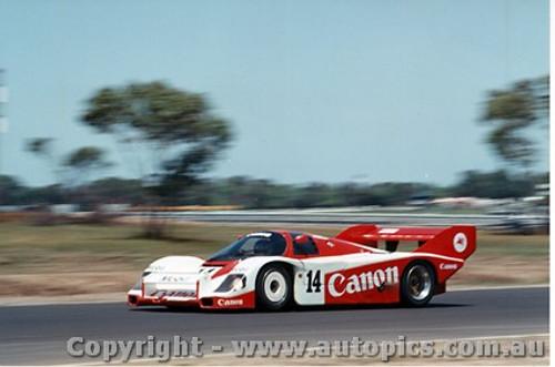 84416 - J. Palmer / J. Lammers  Porsche 956T - Final Round of the World Sports Car Championship - Sandown 1984