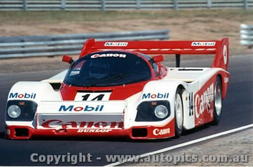 84418 - J. Palmer / J. Lammers  Porsche 956T - Final Round of the World Sports Car Championship - Sandown 1984