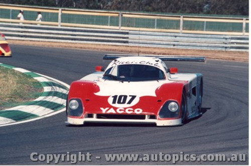 88413 - J.Ricci / C. Bauot-Lena Spice Cosworth SE88 - Final Round of the World Sports Car Championship - Sandown 1988