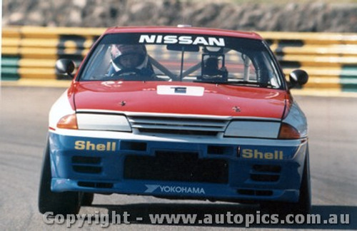 91007 - J. Richards  Nissan GTR - Amaroo 1991