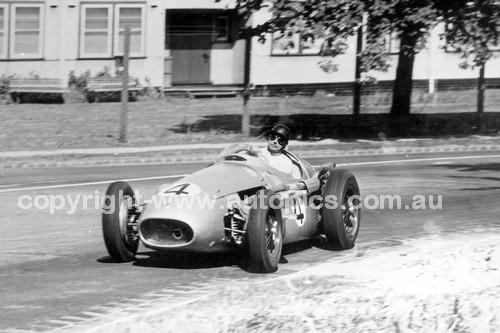 56520 - Ken Wharton Maserati 250F- Australian Grand Prix  Albert Park 1956
