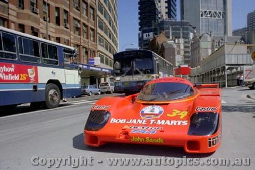 84422 - P. Brock / L. Perkins Porsche 956 - Taken in Sydney before leaving for Le Mans 1984