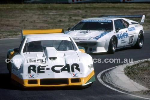 84427 - Allan Grice,  Dick Johnson & Ron Harrop, Chev Monza - Final Round of the World Sports Car Championship - Sandown 1984 - Photographer Peter D'Abbs