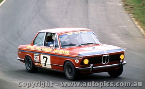 75022 - Peter Williamson BMW 2002 - Oran Park 1975