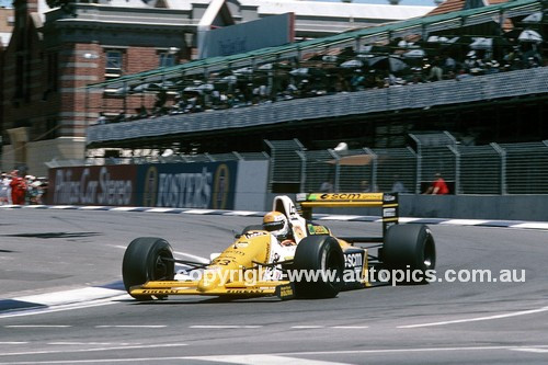 89550 - Pierluigi Martin, Minardi M198 -  Australian Grand Prix Adelaide 1986