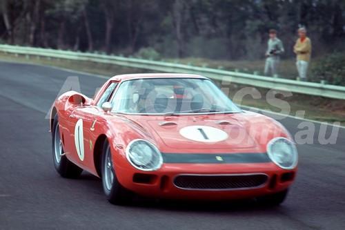 65303 - Spencer Martin Ferrari 250LM - Warwick Farm 1965 - Photographer Richard Austin