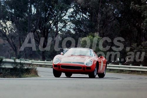 65302 - Spencer Martin Ferrari 250LM - Warwick Farm 1965 - Photographer Richard Austin