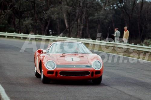 65301 - Spencer Martin Ferrari 250LM - Warwick Farm 1965 - Photographer Richard Austin