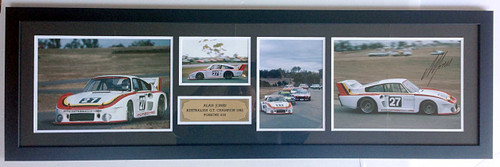 Alan Jones Porsche 935 - 1982 - Presonally Signed - Only 2