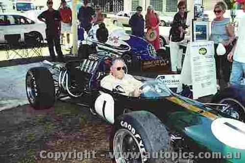 202509 - Jack Brabham Repco Brabham - Speed on Tweed 2002 - Photographer David Blanch