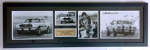 Ian (Pete) Geoghegan - Signed & Framed - $195.00