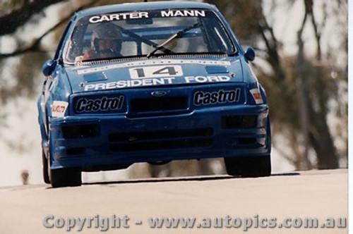 89731 - Carter / Mann  -  Bathurst 1989 - Ford Sierra RS500