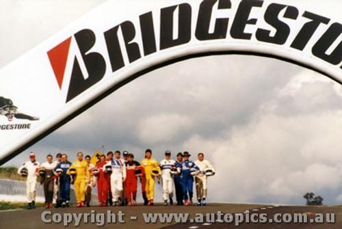 89732 - Brock, Moffat, Bond, Fury, Grice, Seton, Perkins and more - Bathurst 1989