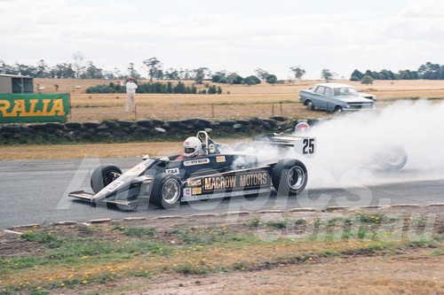 86096 - Peter Macrow, Cheetah 8-  Symmons Plains 8th March 1986 - Photographer Keith Midgley