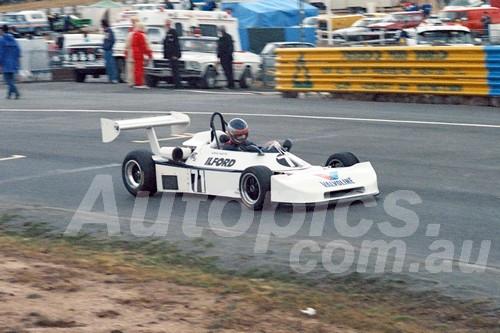 87092 - Adrian Martin Ralt RT1-  Symmons Plains 8th March 1987 - Photographer Keith Midgley