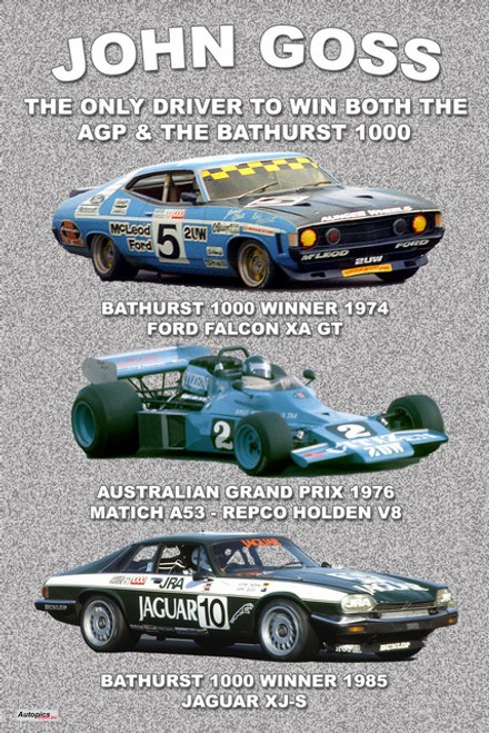 1178 - John Goss the only person to win both the Bathurst 1000 & the AGP