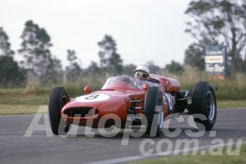 63042 - Lex Davison, Cooper Climax - Warwick Farm 1963 - Photographer Peter Wilson