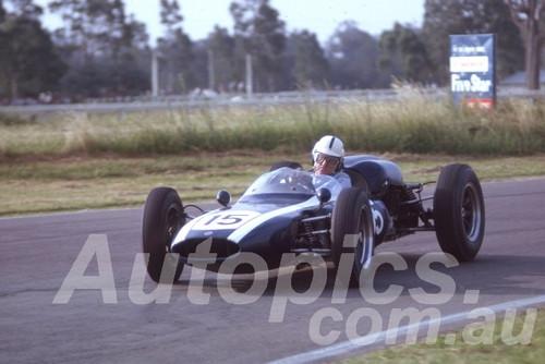 63045 - John Youl, Cooper Climax - Warwick Farm 1963 - Photographer Peter Wilson