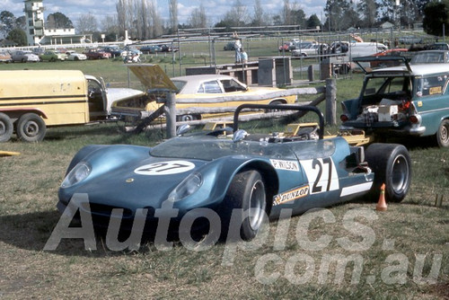 71639a - Peter Wilson, Lotus 23B - Warwick Farm 1967 - Peter Wilson Collection