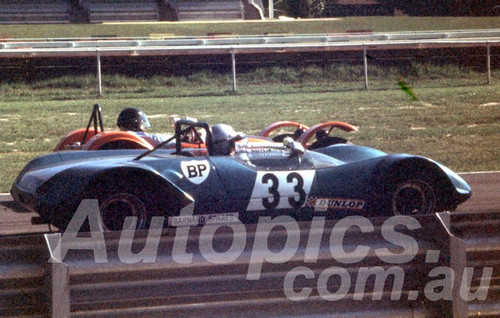 71640a - Peter Wilson, Lotus 23B - Warwick Farm 1967 - Peter Wilson Collection