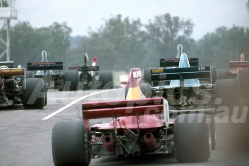 78643 - Rear of the Starting Grid - Tasman Series Oran Park 1979